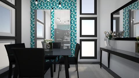 Mirrored Dining - Modern - Dining room - by XiraFizade