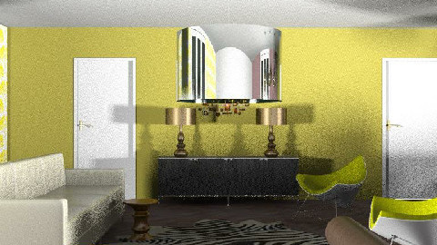 Retroglam - Retro - Living room - by Kaarina