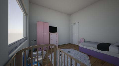 Kids room view 1 - Kids room - by xtremelu