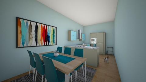 Kitchen - by Selena29