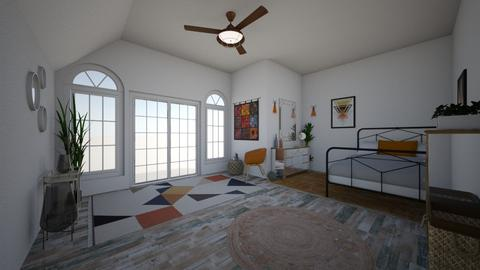 hippie  - Bedroom - by csf686843