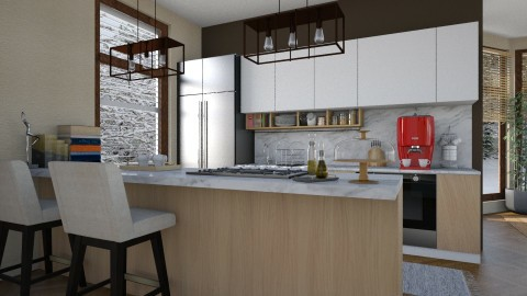 Winter - Modern - Kitchen - by katarina_petakovi