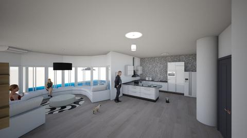 first floor - Living room - by anaclaraalvesjianelli