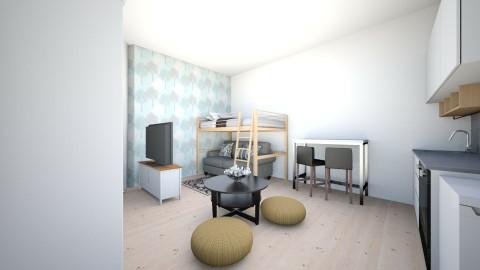 airbnbtele2 - Living room - by kesdorka