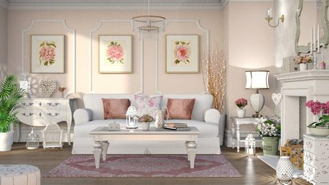 Shabby Chic Living - Living room - by LB1981