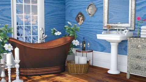 Elizabeth - Bathroom - by Liu Kovac