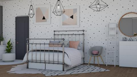 pink - Modern - Kids room - by NEVERQUITDESIGNIT