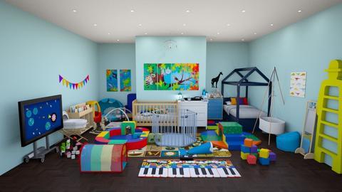 kids room - Masculine - Kids room - by kellynazha
