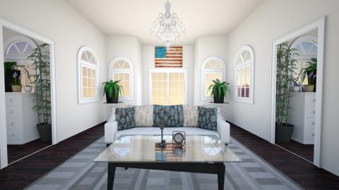 American Colonial - Vintage - Living room - by Rasheliz