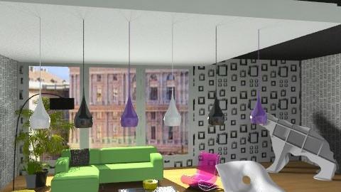 Sara  - Glamour - Living room - by Glory