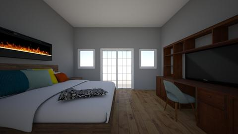 Master bedroom 1 - Bedroom - by epsepeterson06