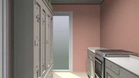 kitchen pink2 - Vintage - Kitchen - by jlyus0