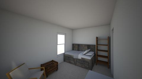 HOUSE - Bedroom - by clevede