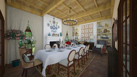 Dining room - Vintage - Dining room - by maja97