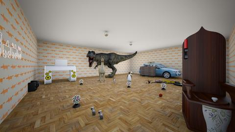 Christophers bedroom - Bedroom - by gzor810137