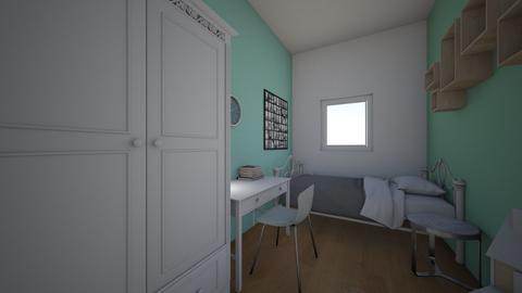 norah - Bedroom - by lieke2002