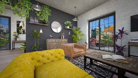 Urban Jungle living - Living room - by Chiara Amadei