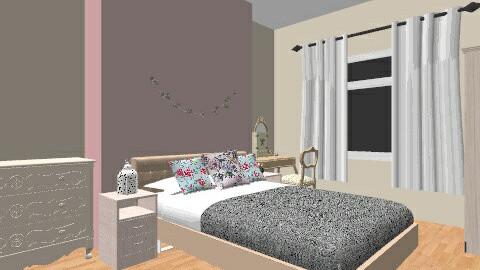 Retro vintage girly room - Feminine - Bedroom - by ShannonGrant