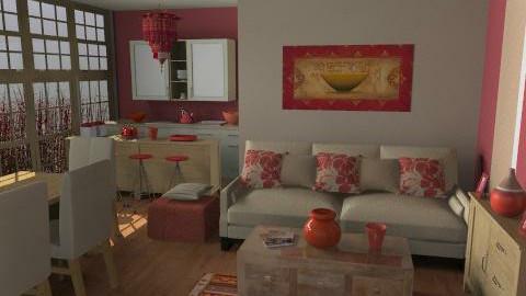 Cream - Classic - Living room - by Rooooo