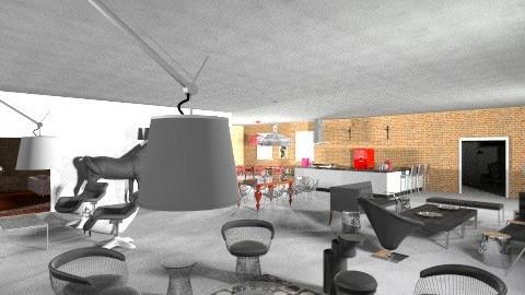 LOFT - Vintage - Living room - by mario75