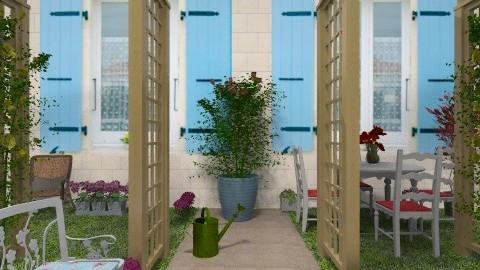 Country garden - Country - Garden - by milyca8