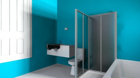 bathroom blue - Eclectic - Bathroom - by jodicookstyle