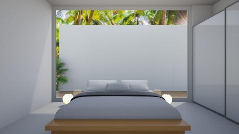 White - Bedroom - by Asya Aya