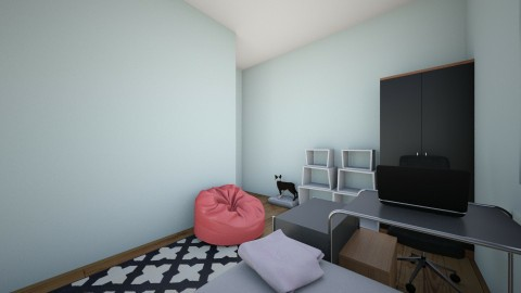 Amys_room - Modern - Bedroom - by Dogs are the best