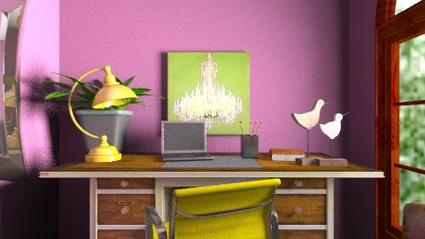 Bright contrasts study - Rustic - Office - by i_love_ducks