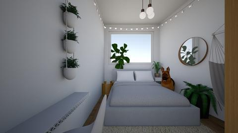 herbergid mitt vonandi - Minimal - Bedroom - by gnesa10101010