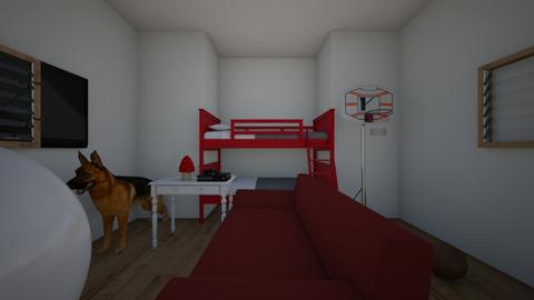 tekels room - Bedroom - by TPGTHEGOAT
