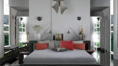 Bedroom_4 - Minimal - Bedroom - by lilica