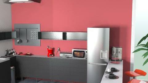 Kitchen Contest 1 - Minimal - Kitchen - by FlowerPowerLX