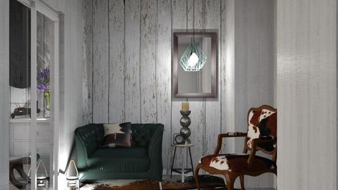 Hall 5 - Rustic - Living room - by Jessica Fox