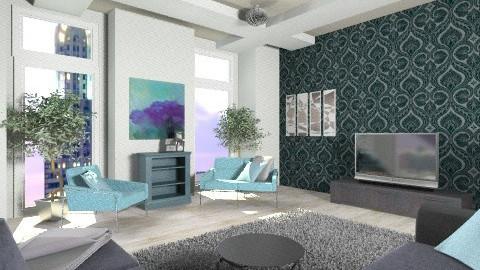 black - Modern - Bedroom - by Audie