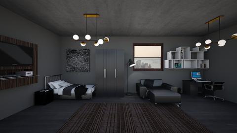 Boy Bedroom 1 - Bedroom - by Haniehmn
