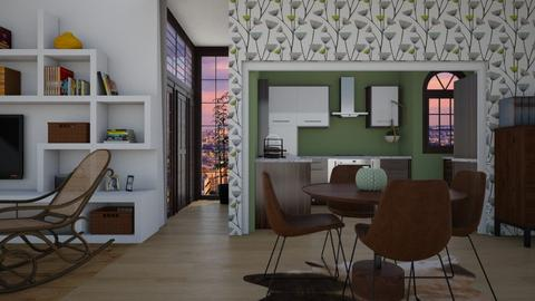 Green style - Dining room - by Miss MH