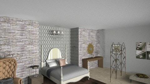 camera da letto di lusso - Eclectic - Bedroom - by eileen tenuise