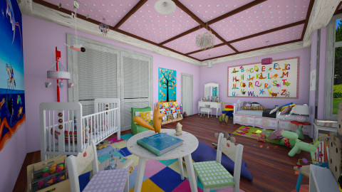 """""""queen"""" room - Kids room - by Conchy"""