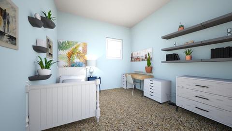 My actual bedroom 1 - Bedroom - by 24aharvey