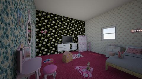 Princess Pink Girly Bed - Bedroom - by Princapessa10