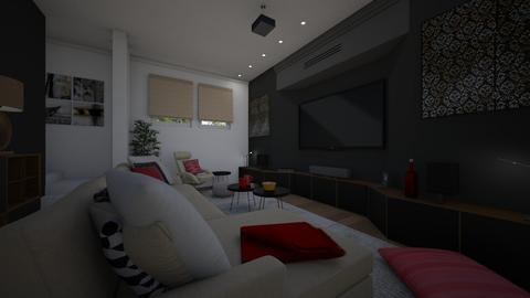 Basement cinema - Living room - by Tuitsi