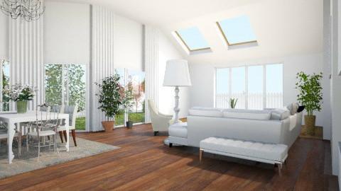 Maison douce  - Living room - by amandine evieux
