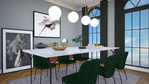 Haussman - Living room - by sabaclayes