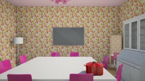 food II - Dining room - by Melis Sevim