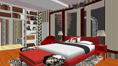 Teens Room - Bedroom - by asdfghjkl_krys