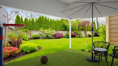 Backyard - Garden - by Princapessa10