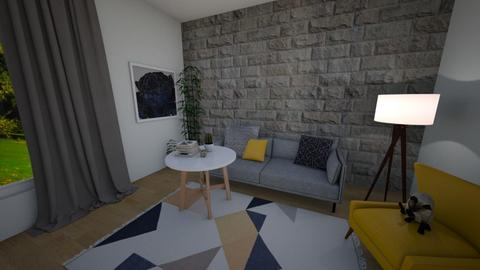 living room design - by ClaudiaRoze