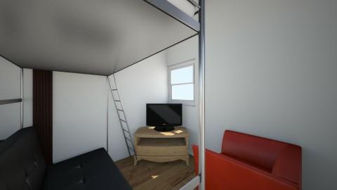 Evangel Dorm setup C idea - Living room - by Mysteroo
