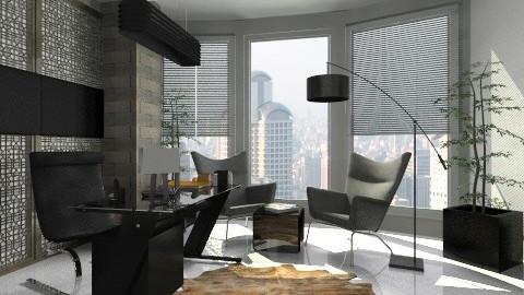 office - Modern - Office - by Firuza Eva